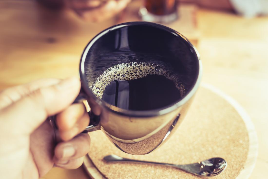 el cafe descafeinado es malo