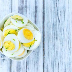 ¿Cuántas calorías contienen los huevos?