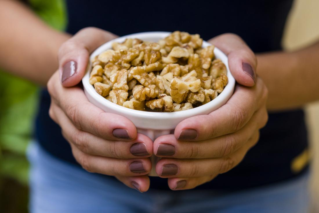 Bowl of walnuts