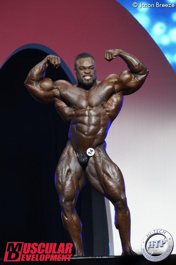 Brandon Curry, Mr Olympia