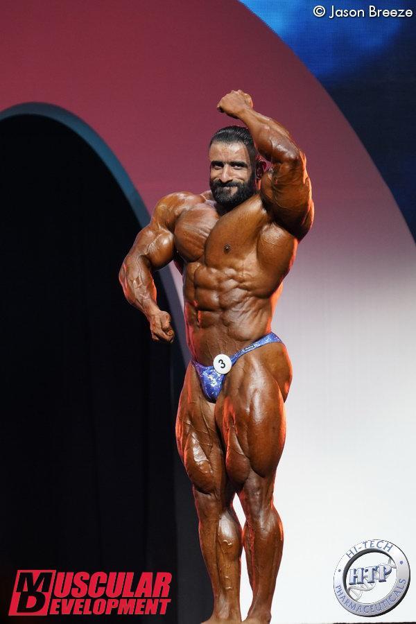 Hadi Choopan, 3ème en catégorie Open
