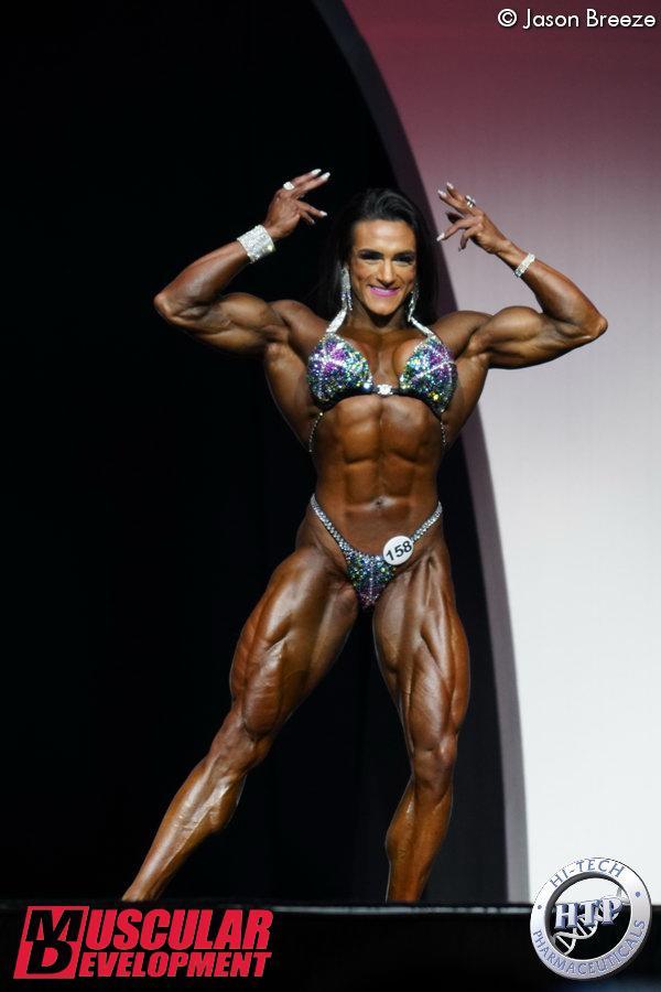 Natalie Coelho, 3ème en Women%image_alt%27s Physique
