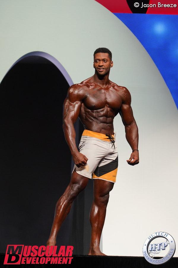 Raymont Edmonds, vainqueur en Men%image_alt%27s Physique
