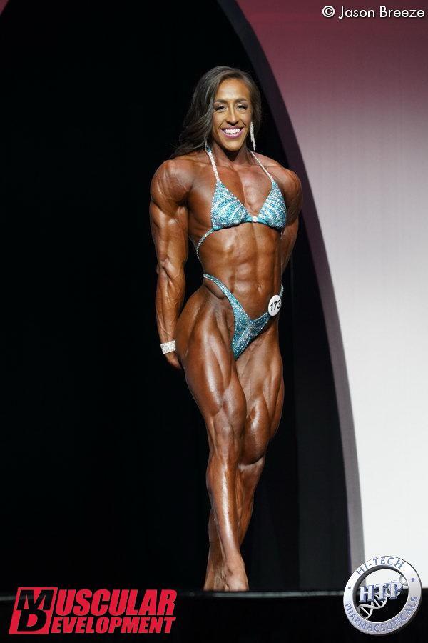 Sarah Villegas, 2ème en Women%image_alt%27s Physique