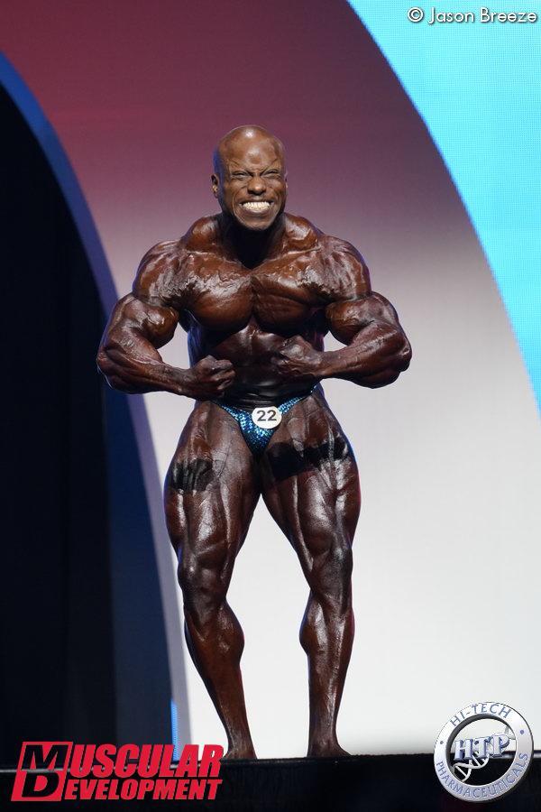 Shaun Clarida, 3ème en -212lbs