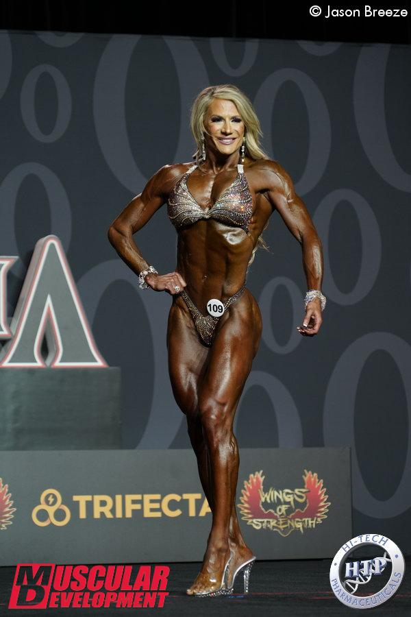 Whitney Jones, Mr Olympia Fitness