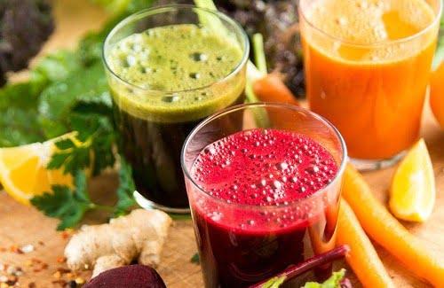 ¿Por qué elegir jugos de frutas y verduras frescas?